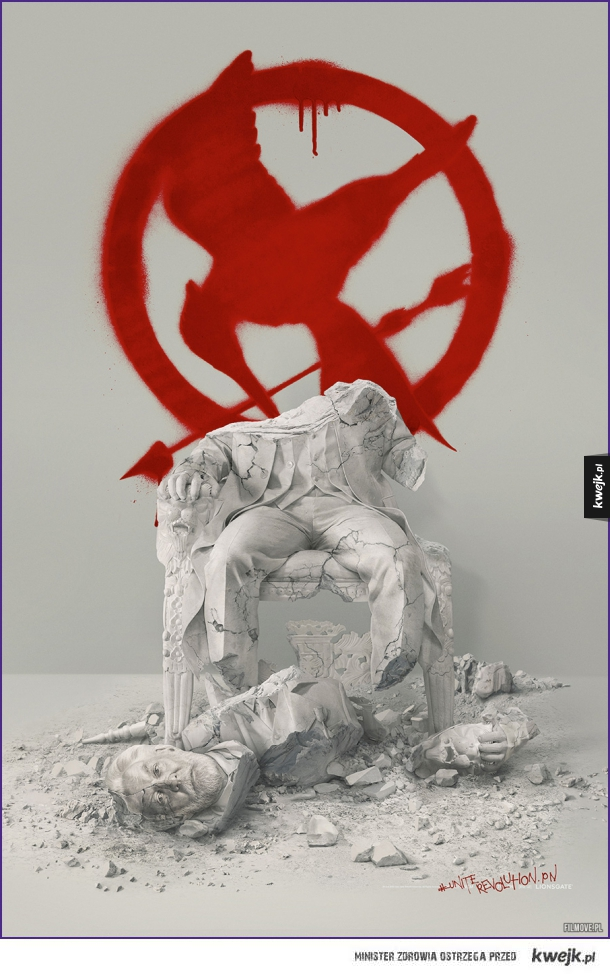Oficjalny plakat The Hunger Games Mockingjay, Part 2