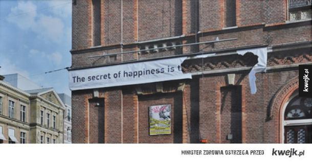 Sekret szczęścia...