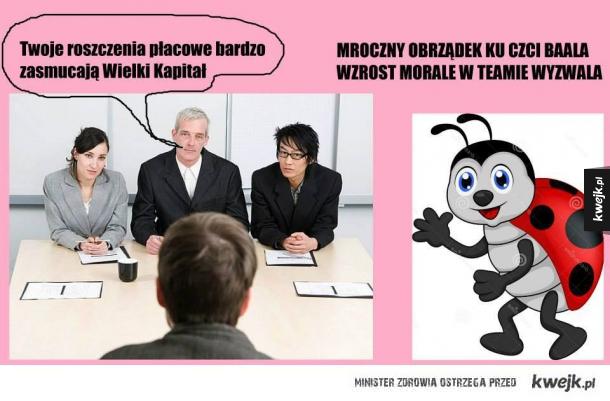 Taka sytuacja w firmie