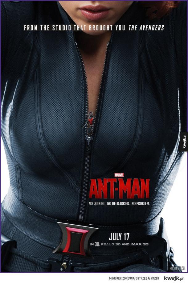 Tego plakatu Ant-Mana brakowało :D