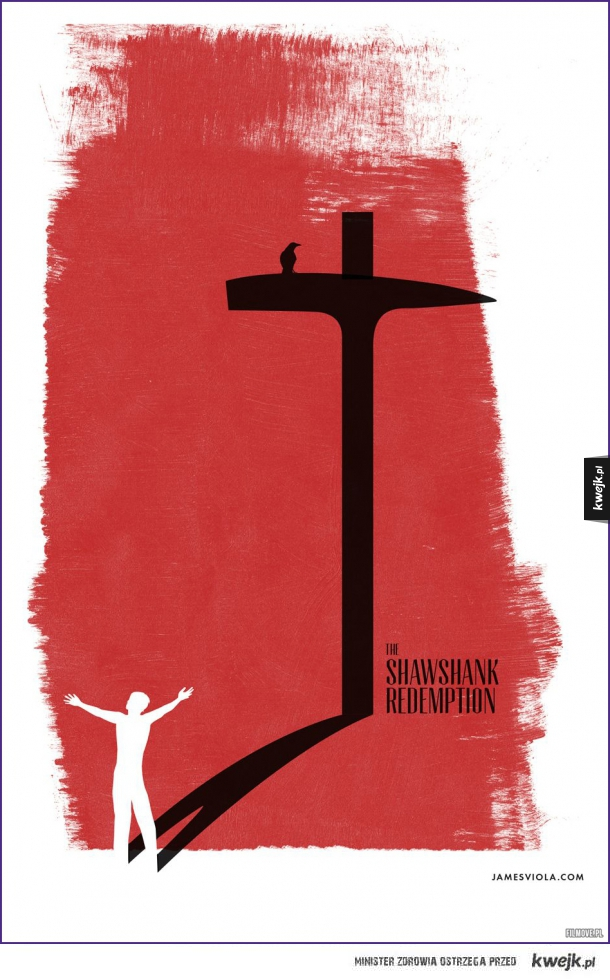 Fanowski plakat Skazanych na Shawshank