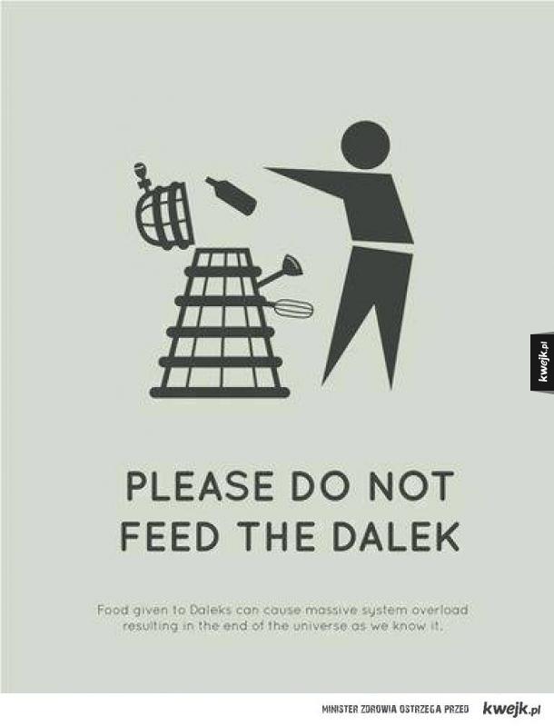 Proszę nie karmić Daleków