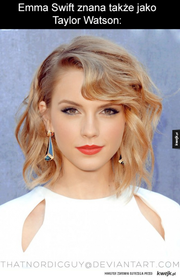 Gdyby Taylor Swift i Emma Watson stały się jedną osobą