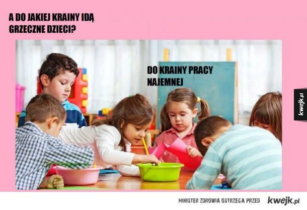 Grzeczne dzieci...