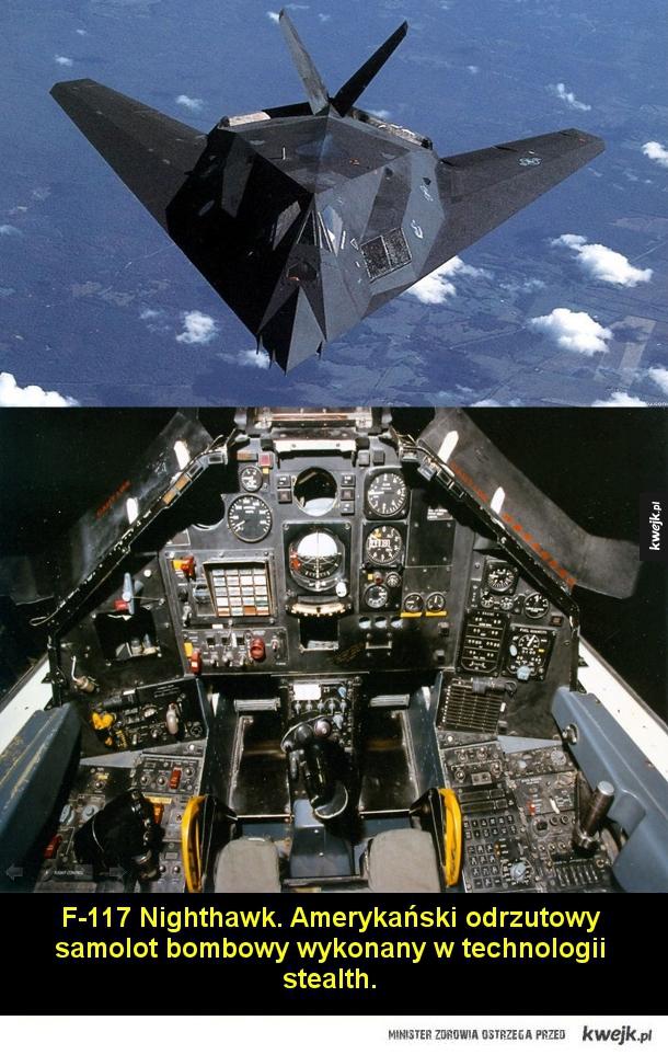 Słynne samoloty i ich kokpity