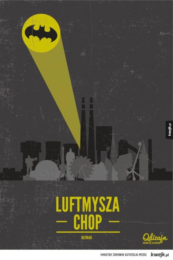 Plakaty filmowe po śląsku