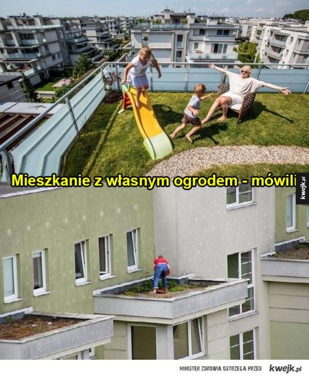 Własny ogródek.