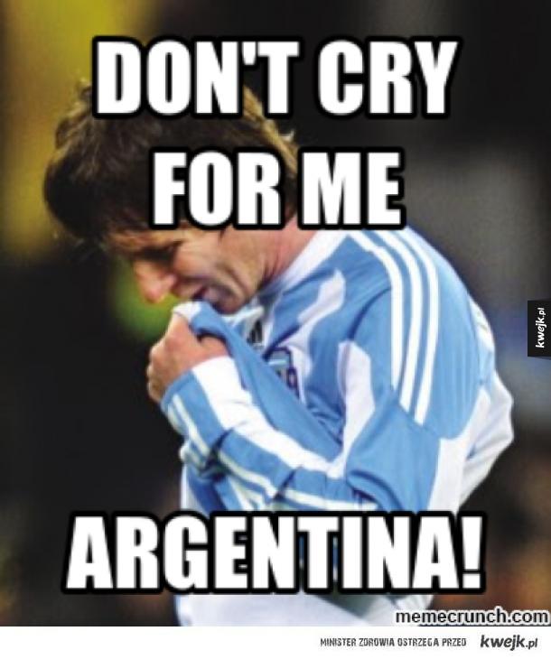Biedny Messi