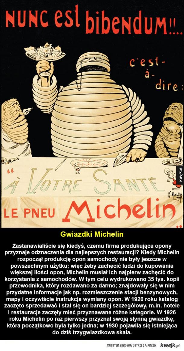 Skąd się wzięły Gwiazdki Michelin