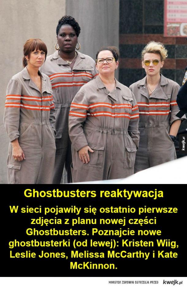 Ghostbusters powracają w wersji żeńskiej