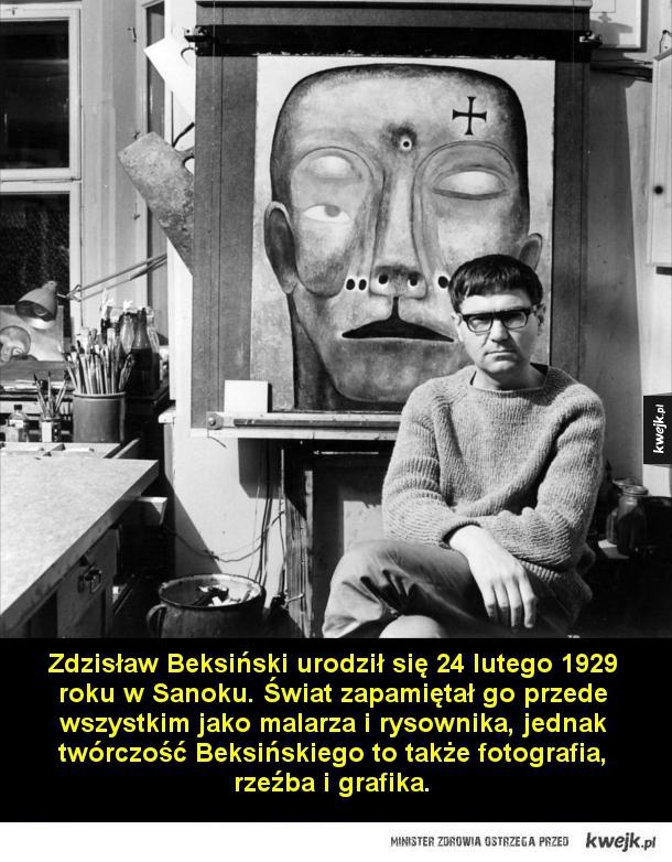 Fotografie snu - Zdzisław Beksiński urodził się 24 lutego 1929 roku w Sanoku. Świat zapamiętał go przede wszystkim jako malarza i rysownika, jednak twórczość Beksińskiego to także fotografia, rzeźba i grafika.  Beksiński nie miał wykształcenia artystycznego. Zamiast ASP uk