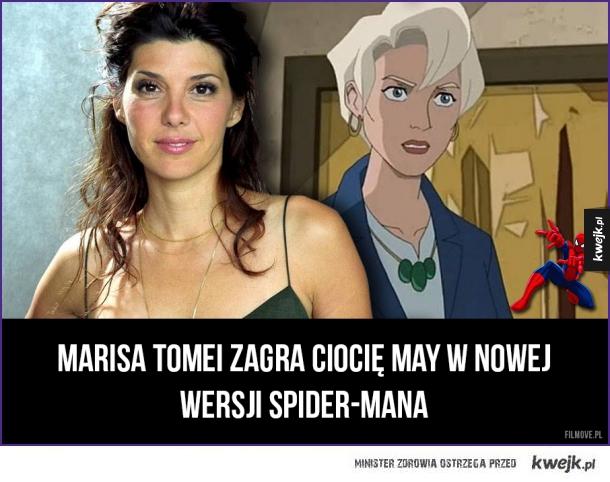 Marisa Tomei zagra Ciocię May