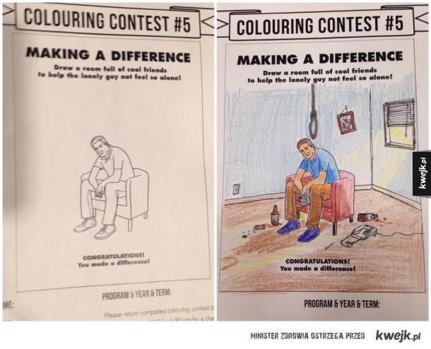 Kolorowanki dla dorosłych...