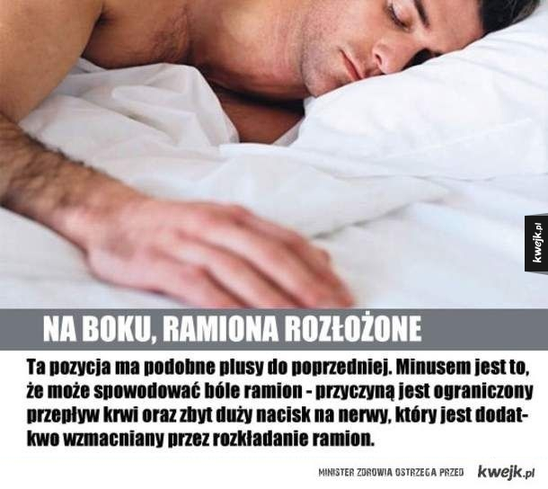 Wpływ pozycji snu na nasze życie