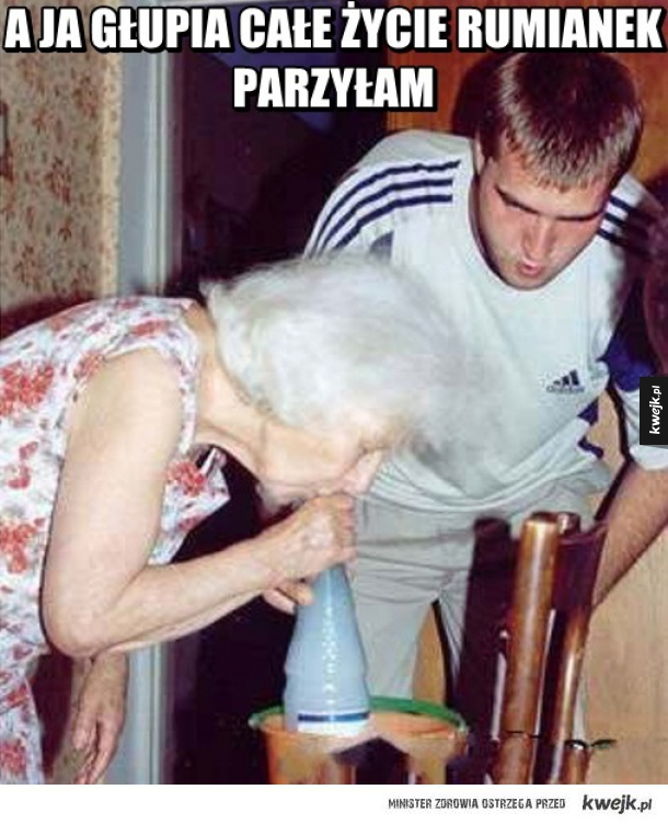 Co ta babcia
