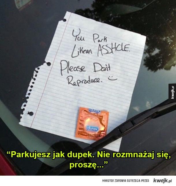 Parkowanie.