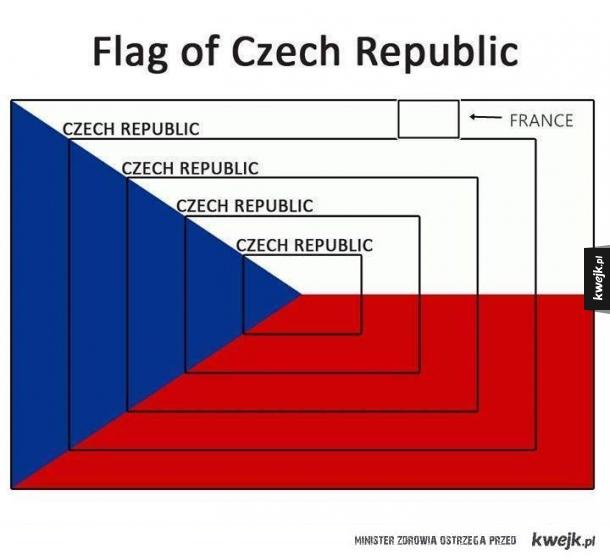 Cwaniaki w projektowaniu flagi...
