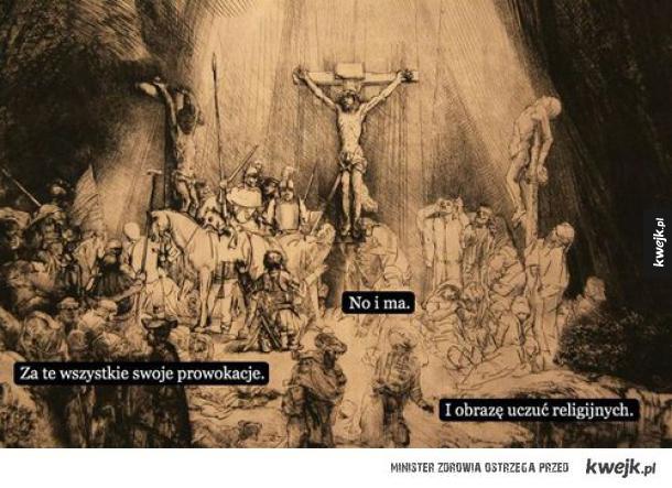 Karanie za obrazę uczuć religijnych