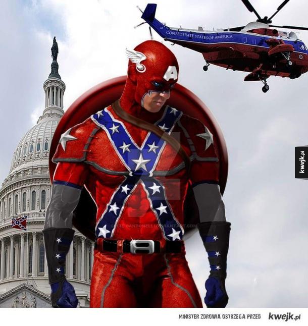 Kapitan Ameryka gdyby wygrali konfederaci