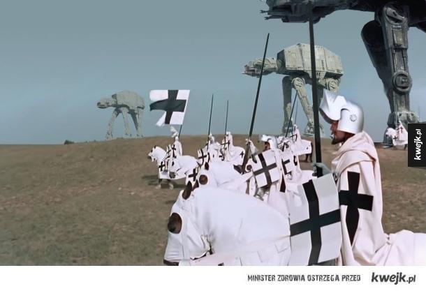 Nieznane ujęcia z wojen z Krzyżakami