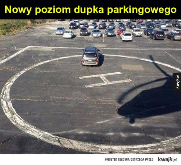 Tymczasem na parkingu