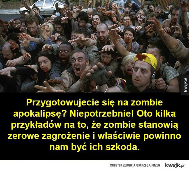 żałosne zombie