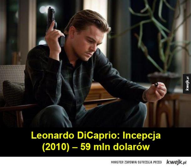 Leonardo DiCaprio: Incepcja (2010) – 59 mln dolarów