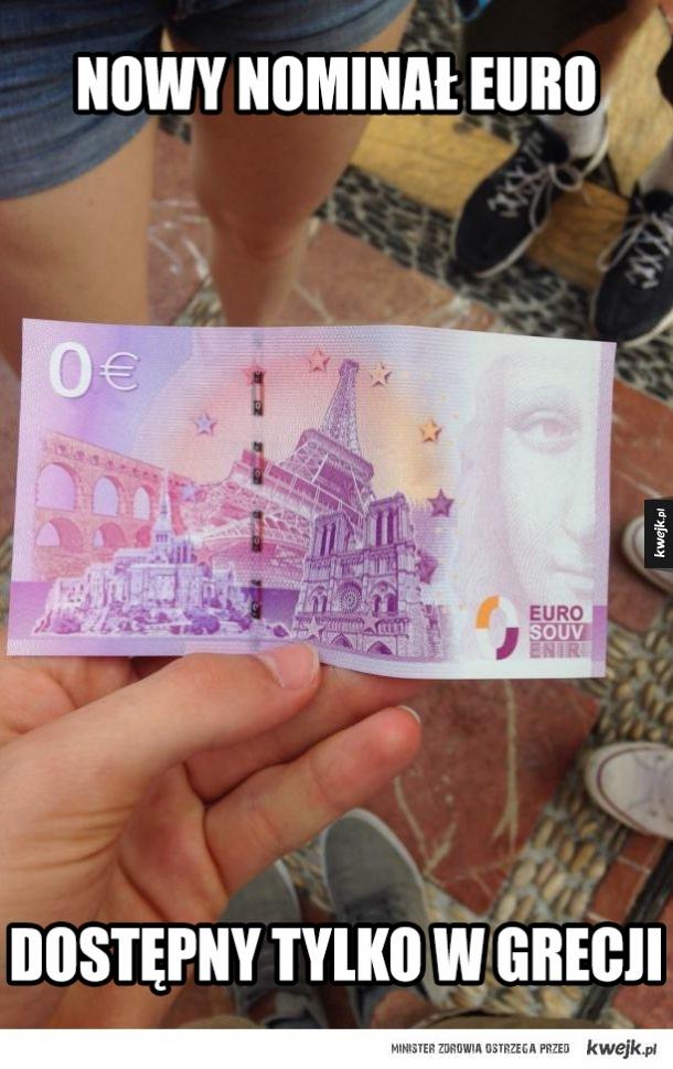 Nowe banknoty