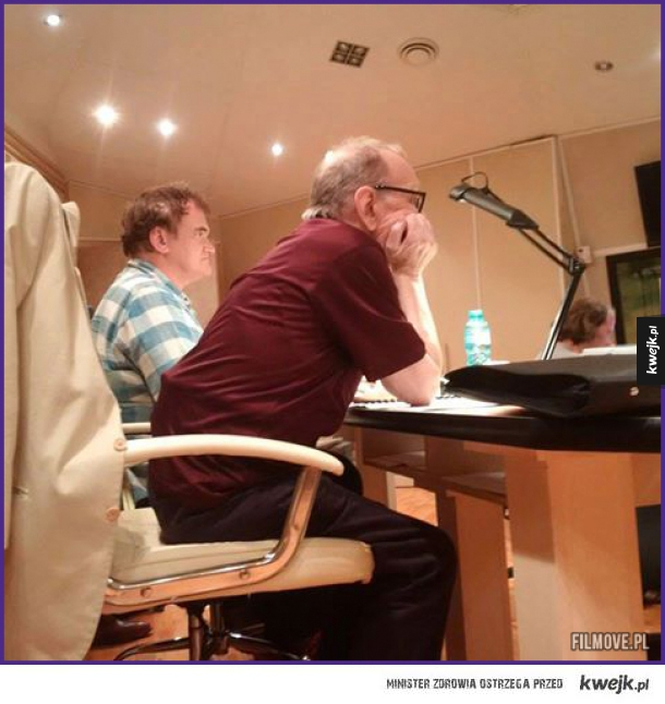 Quentin Tarantino i Ennio Morricone pracują nad The Hateful Eight