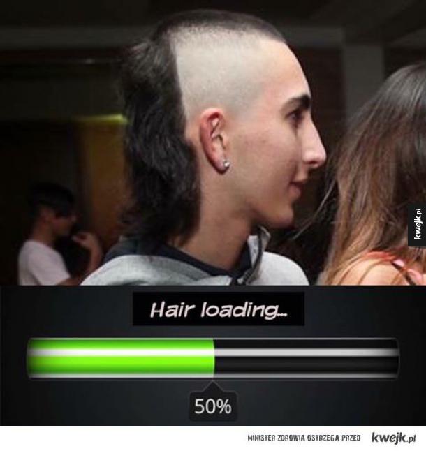 Tekstury włosów się jeszcze nie wczytały