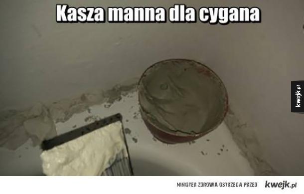 Cygańska kasza manna