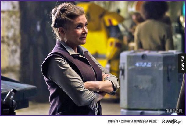 Księżniczka Leia po latach