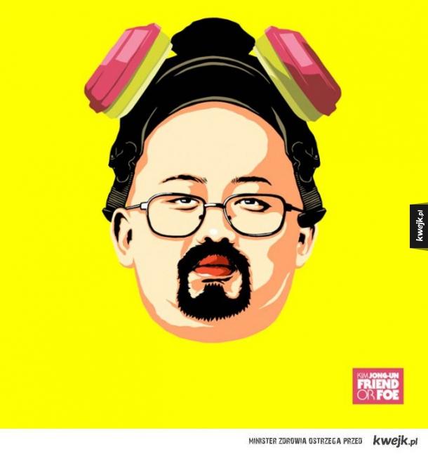 Kim Dzong Un w ciekawym wydaniu