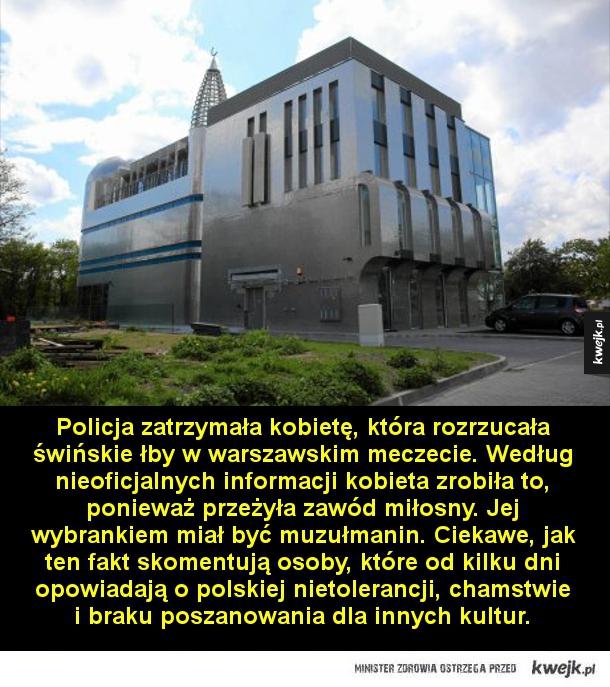 Atak na meczet
