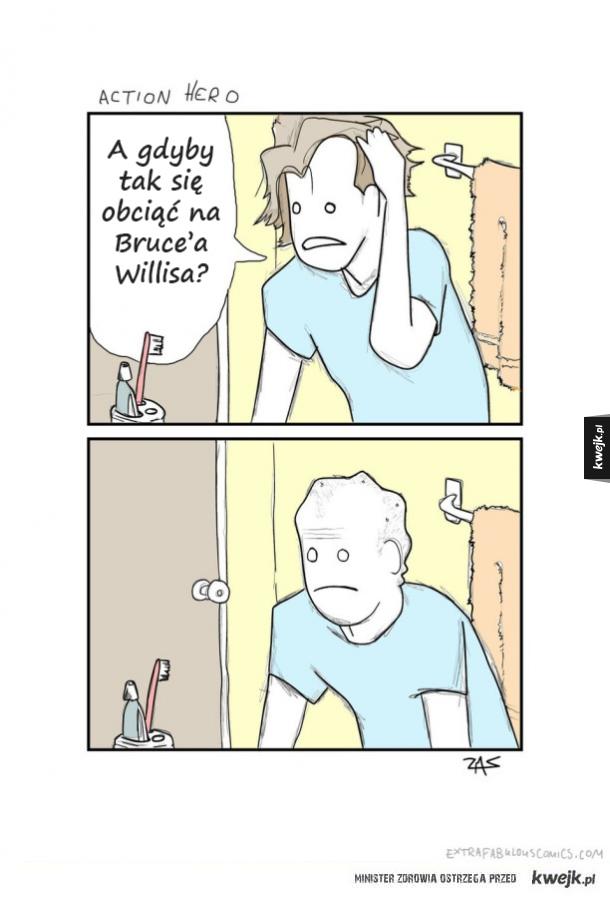 Na Bruce'a Willisa