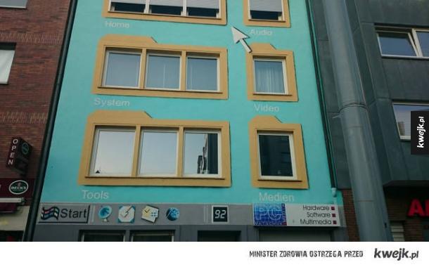Pomysł na ciekawą fasadę budynku