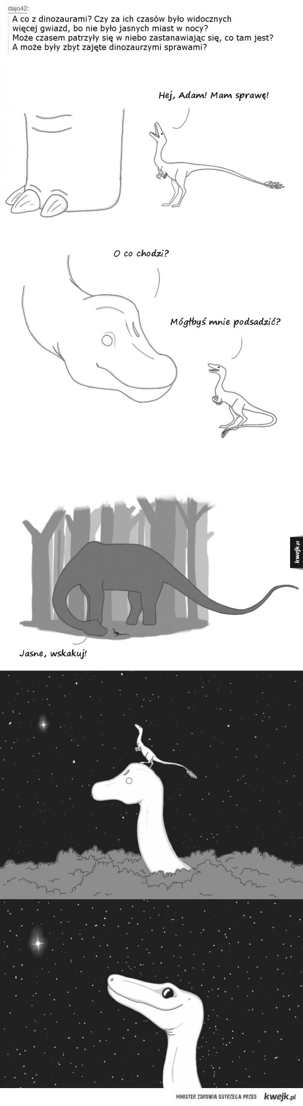 Marzenia dinozaurów