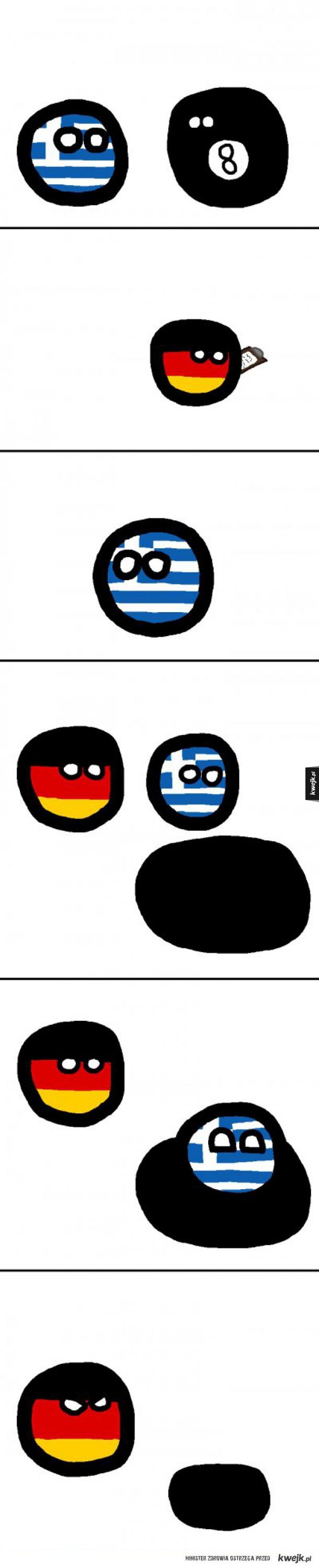 Grecja uciekła.