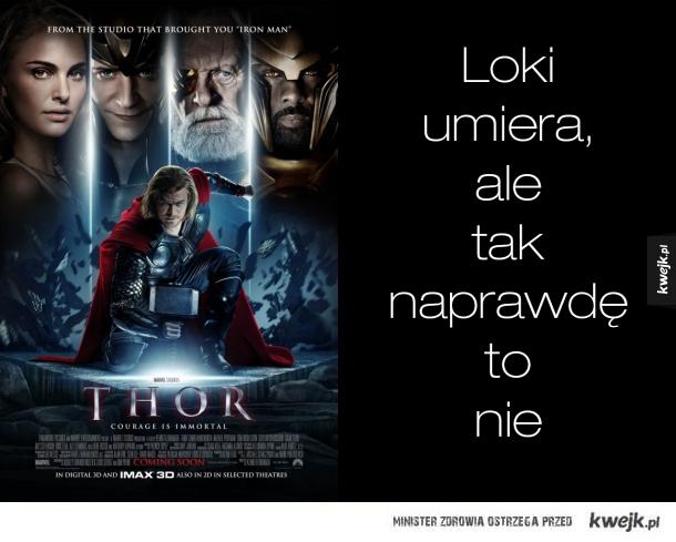 Logika filmów Marvela (uwaga możliwe spojlery)