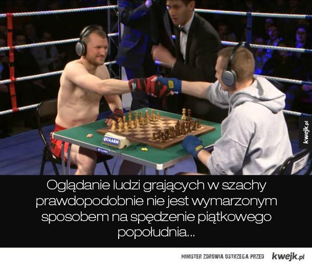 Poznajcie Chessboxing...