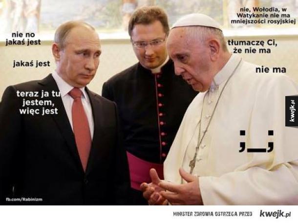 Mniejszość rosyjska w Watykanie