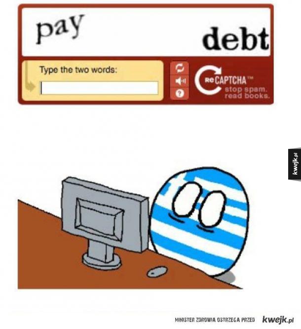 Biedna Grecja