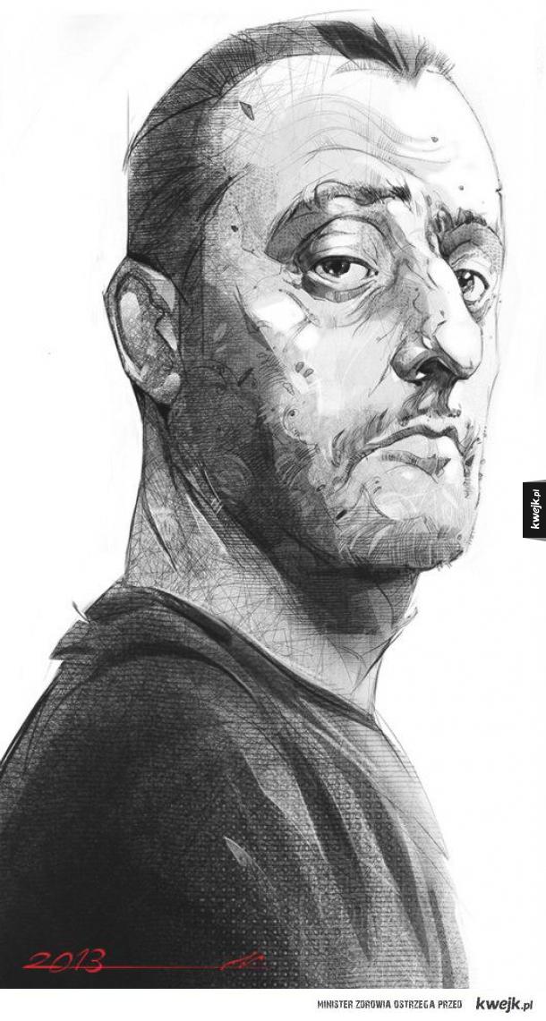 Jean Reno by Ali Kiani Amin