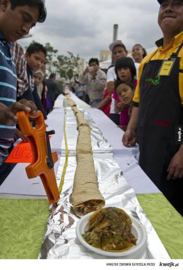 Największy kebab na świecie