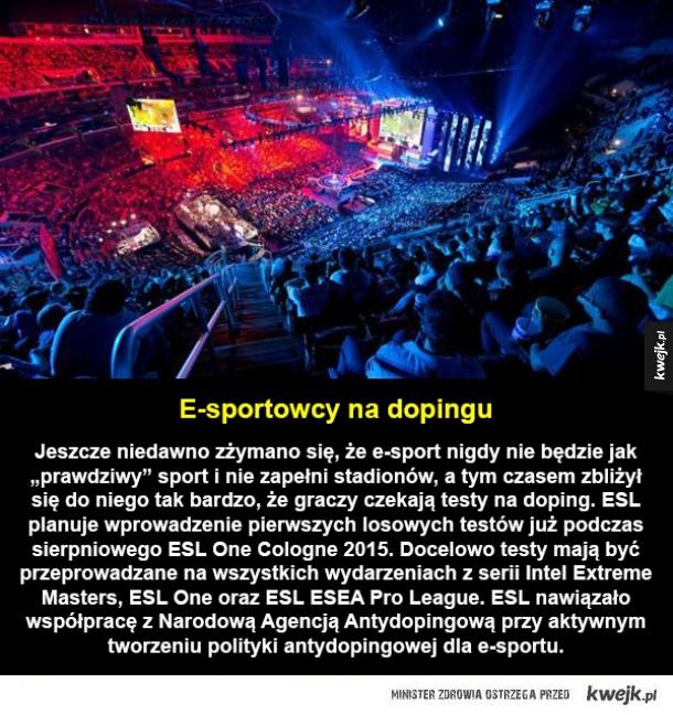 Doping w e-sporcie
