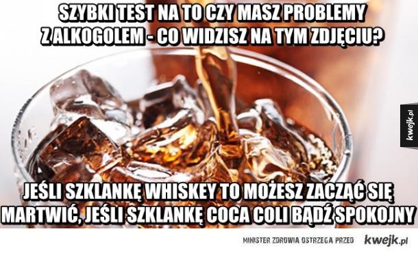 Test alkoholowy
