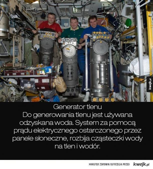 Kilka ciekawych urządzeń znajdujących się na Międzynarodowej Stacji Kosmicznej