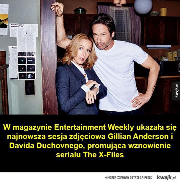 Mulder i Scully po latach