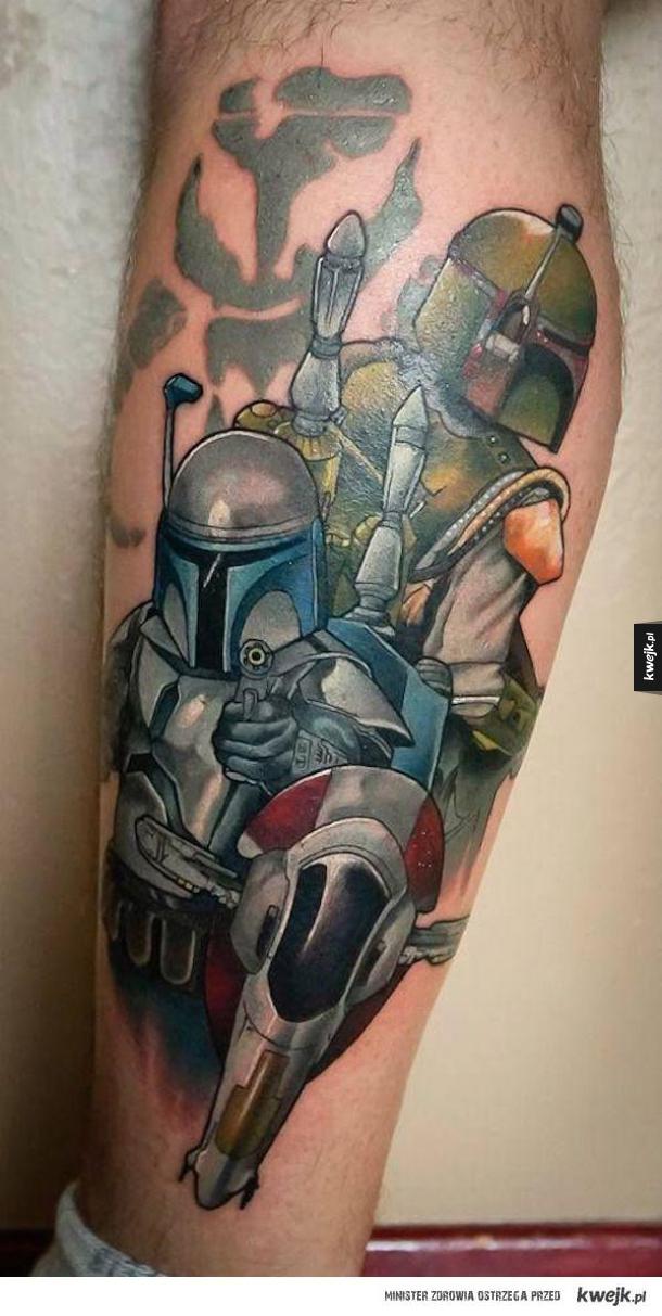 Tatuaże Ze Star Wars Galeria Kwejkpl