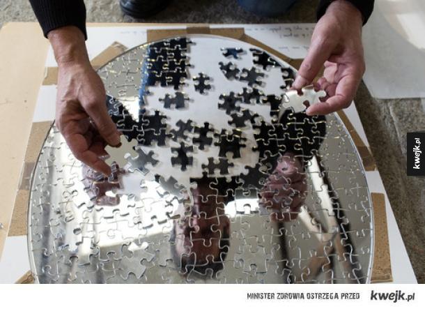 Lustro - puzzle